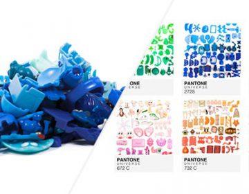 Kinder Pantone Toys' Swatches | A. Houdé-Diebolt