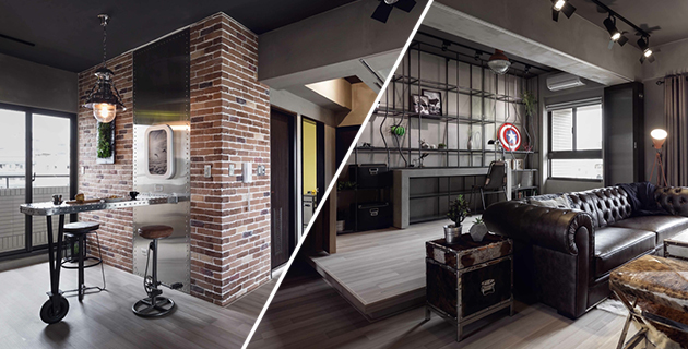 Marvel Heroes Themed House | House Design