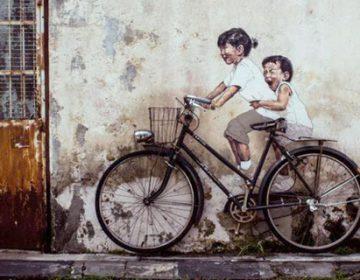 Mirrors | Street art in George Town, Penang