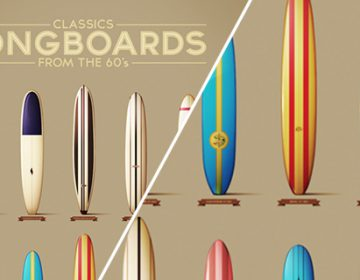 Classics Longboards from the 60´s | Txema Mora