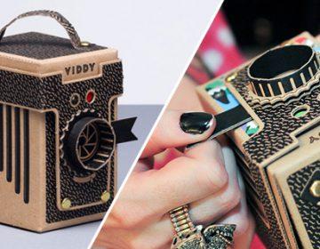 Viddy | Diy pop-up pinhole camera