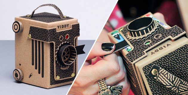 Viddy | Diy pop-up pinhole camera