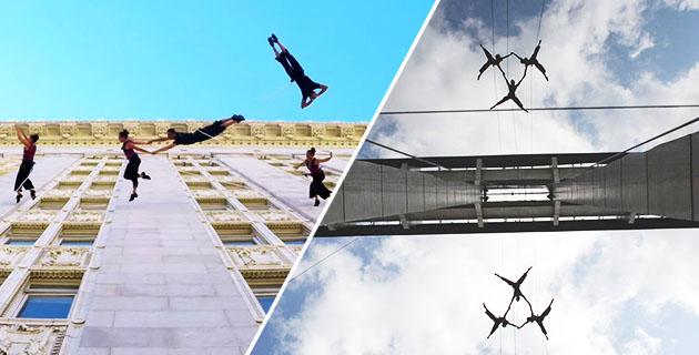 Aerial Dance Performances on Building Walls | Bandaloop
