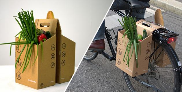 Cardboard Bike Carrier | Packtasche