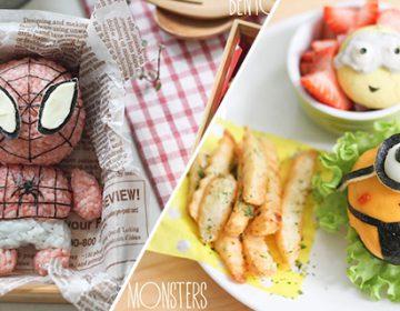 Cartoon Food Artworks | Li Ming