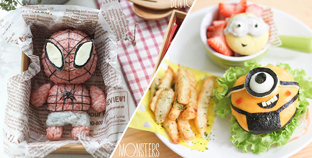 Cartoon Food Artworks | Li Ming