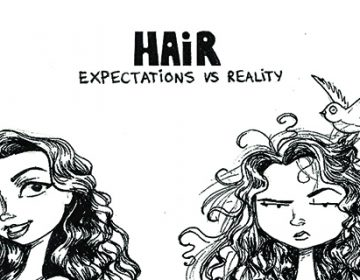 Expectations vs reality of various hair products