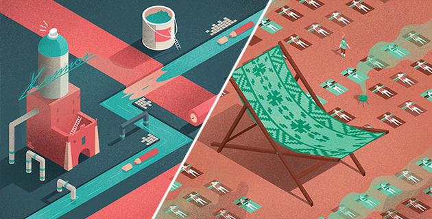 Editorial illustrations | Michał Bednarski