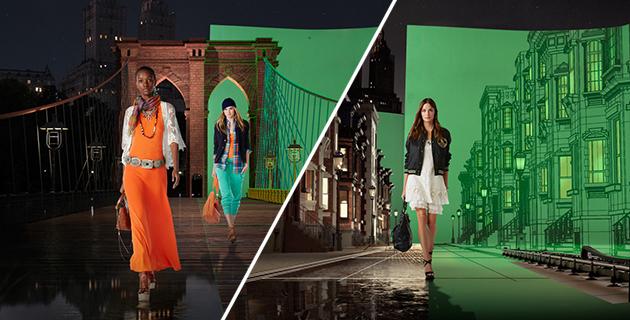 RalphLauren 4D Holographic Fashion Show