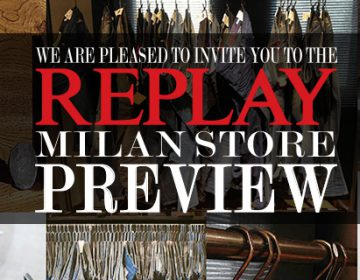 Save the Date: New Milan Replay Flagship Store