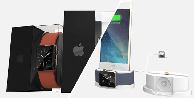Apple WATCH Supercharged Packaging Concept