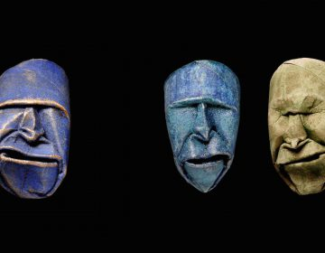 Toilet Paper Rolls Squished into Funny Faces