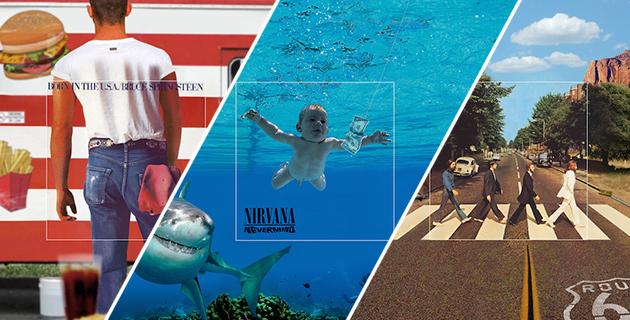 Famous Album Covers Expanded | Aptitude