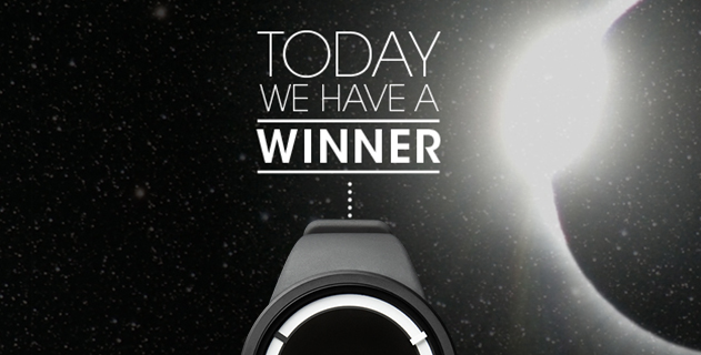 ZIIIRO ECLIPSE WATCH GIVEAWAY: THE WINNER