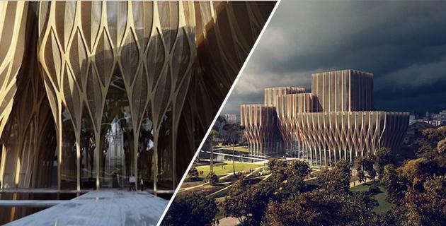 Sleuk Rith Institute | Zaha Hadid