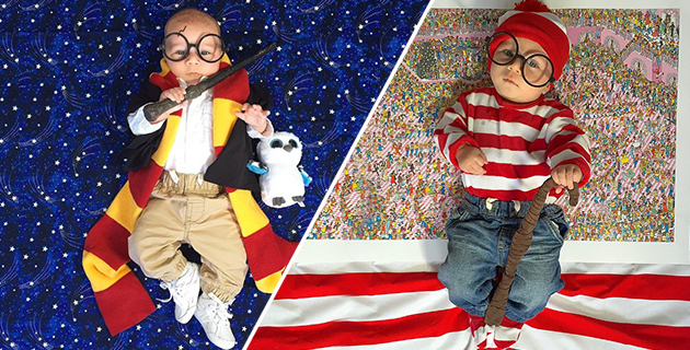 This Baby Has A Different Halloween Costume For Every Day of October