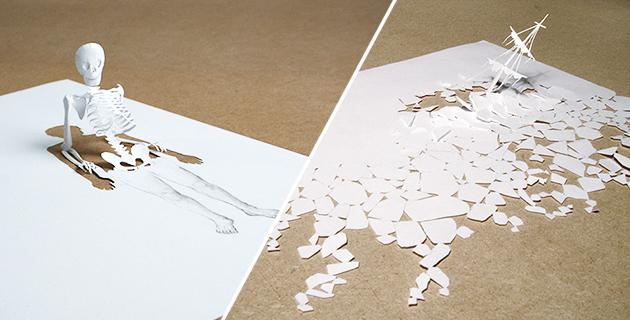 Fairytale-inspired Papercuts   Peter Callesen