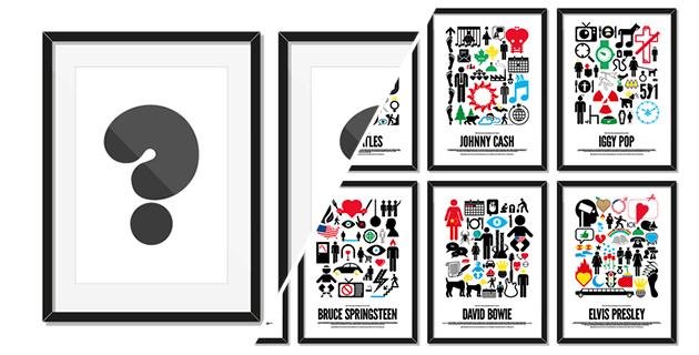 The secret pictogram poster project | Viktor Hertz