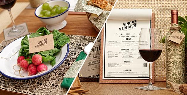 Vino Veritas Branding | Masquespacio