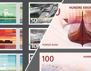 Norway's new banknotes | Snøhetta and The Metric System