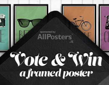 WIN a framed poster from AllPosters.it