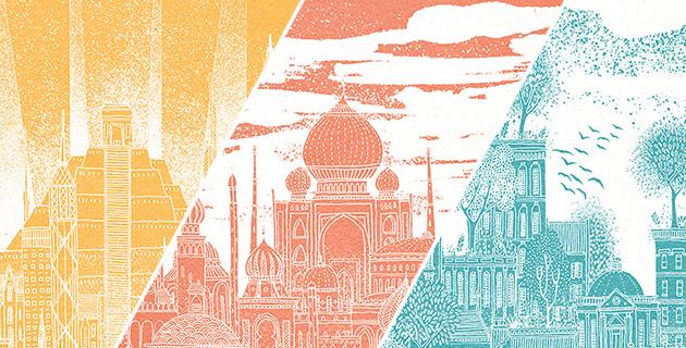 Celestial Cities | David Fleck