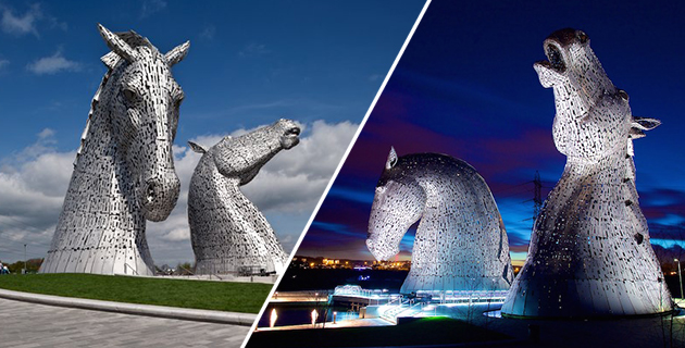 The Kelpies Horse Head Sculptures | Andy Scott