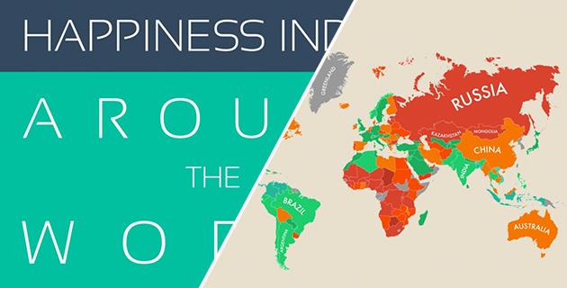 Happiness Around the World | MoveHub