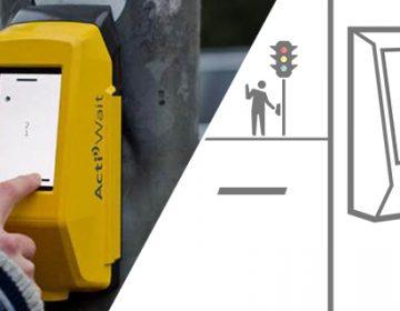 ActiWait pedestrian ping pong