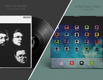 If Apple had done The Beatles' Album Covers