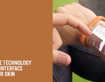 Futuristic Android Bracelet | Cicret