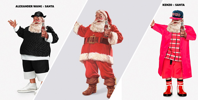 Creative Agency imagines Fashionable Santa Claus | Joint London