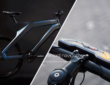 Stylish Smartbike | DuBike by Baidu