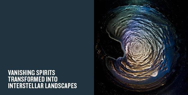 Vanishing Spirits transformed into Interstellar Landscapes | Ernie Button