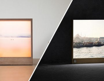 Dimmable Backlit Photo Frame