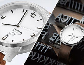 Helvetica Watch | Mondaine
