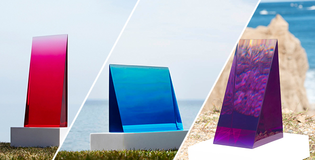 Resin Sculptures inspired by the sky | Eric Cahan