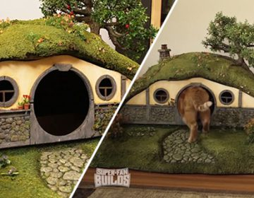 Lord of the rings themed cat house | Tim Baker