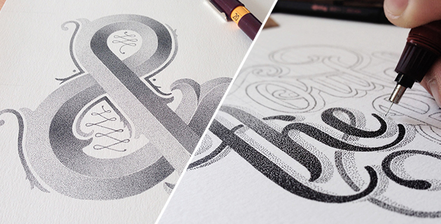 Graphic Artist creates images with tiny dots | Xavier Casalta