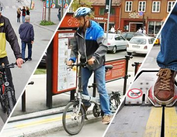 Urban Bike Escalator that helps cyclists scale hills with ease | Trampe