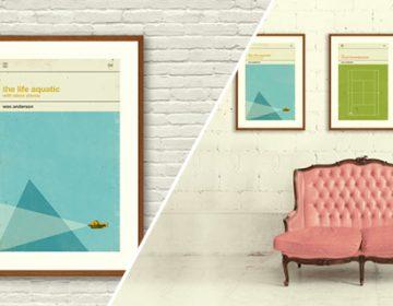 Wes Anderson Film Posters Redesigned | Concepción Studios