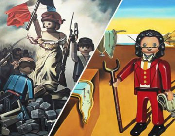 Playmobil Paintings | Pierre-Adrien Sollier