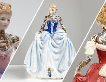 Tattooed Ceramic Figurines | Jessica Harrison