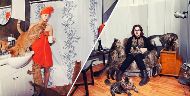 Crazy Cat Lovers | Andréanne Lupien