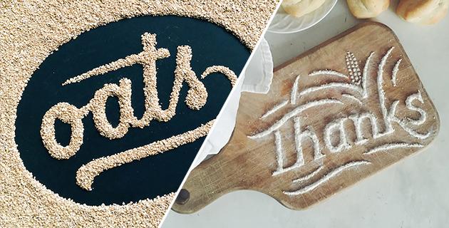 Tasty typography | Becca Clason