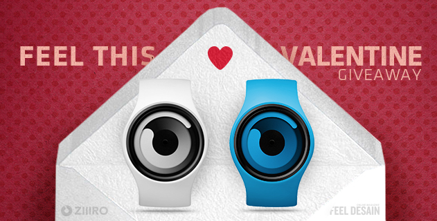 FEEL THIS VALENTINE | WIN A ZIIIRO GRAVITY WATCH