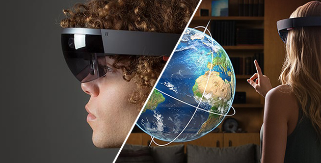 Holograms in the real world   Microsoft HoloLens