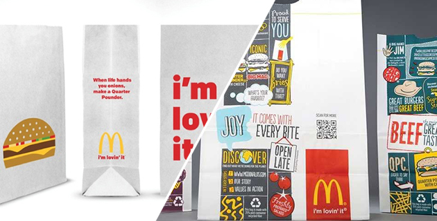 McDonalds Minimal New Design
