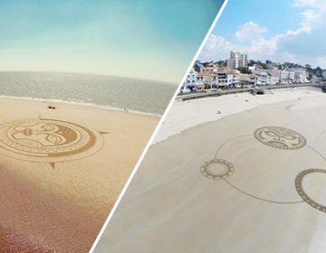 Giant Sand Art | J.Ben
