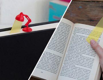 Lamp Bookmark | Peleg Design